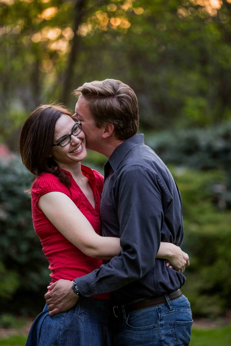 Bethesda Engagement Photographer - Lenore and Mike