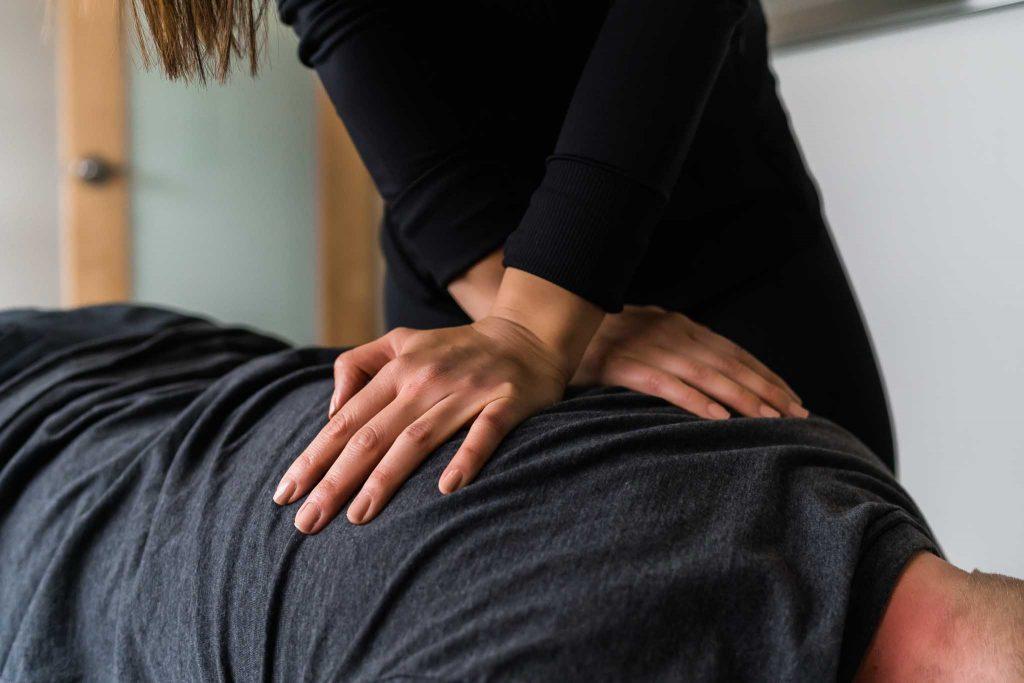 chiropractor service - branding photography